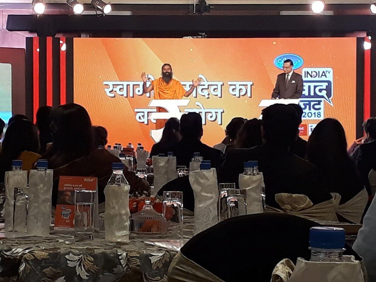IndiaTV - Budget Samwad 2018